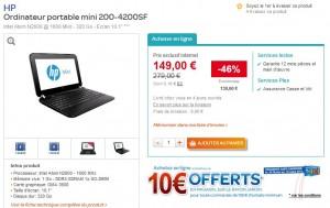 super promo netbook hp 200 4200sf a