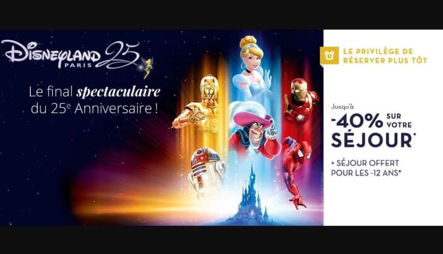 disneyland vente flash sur les