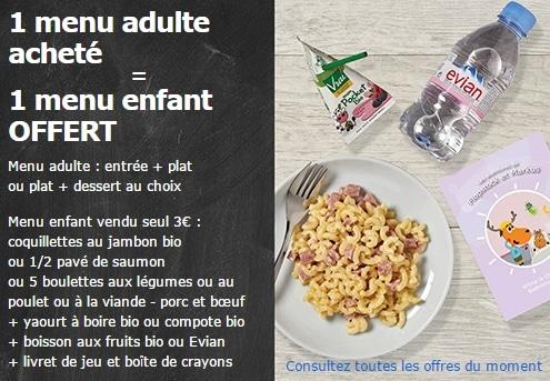 1 menu enfant ikea gratuit pour 1 repas