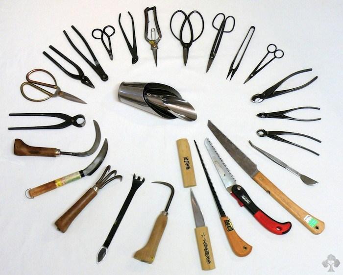 Herramientas y utensilios para Bonsái