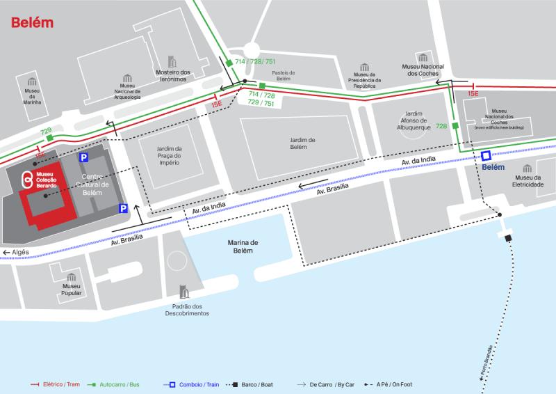 mapa_museuCCB-Coleção Berardo