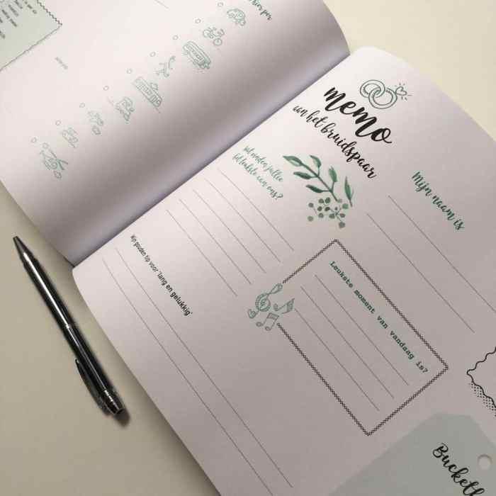 ingebonden gastenboek olijftak