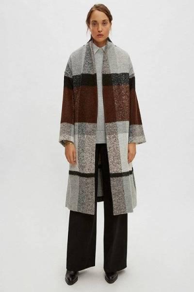 Bauprey coat grey Drykorn