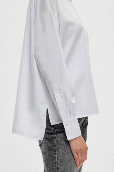 Cloelia shirt white Drykorn
