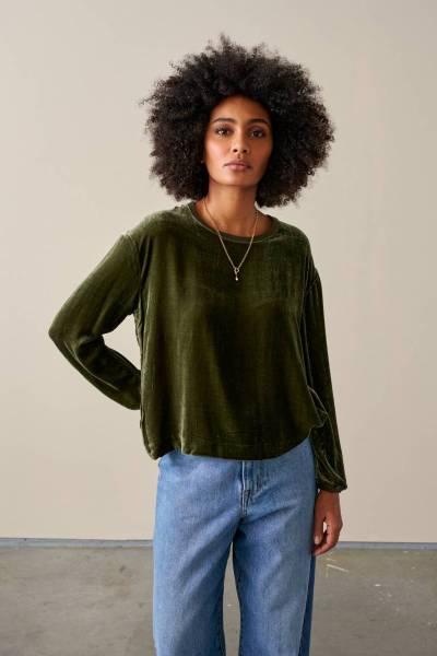 Adil blouses olive Bellerose