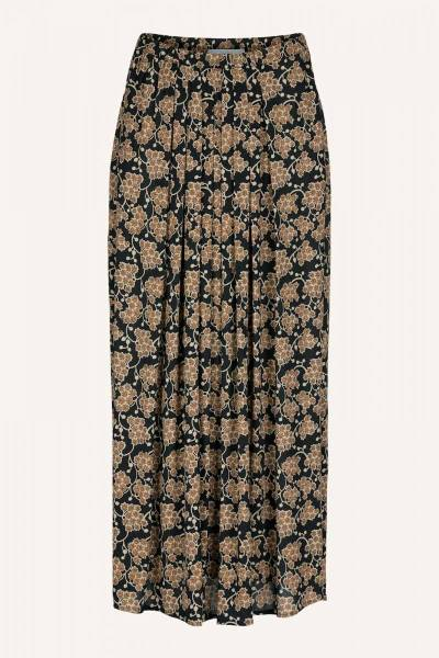 Lien grapes skirt brown print By-Bar