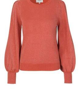 Lea knit o-neck apricot brandy Second Female