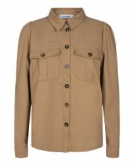 Elle puff shirt khaki Co' Couture
