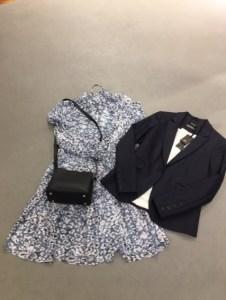 Second Female jurk met Mos Mosh blazer