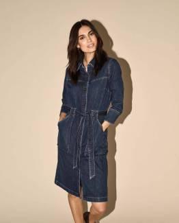 Selby denim dress blue Mos Mosh
