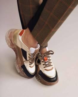 Sneaker transparant kit Summum Woman