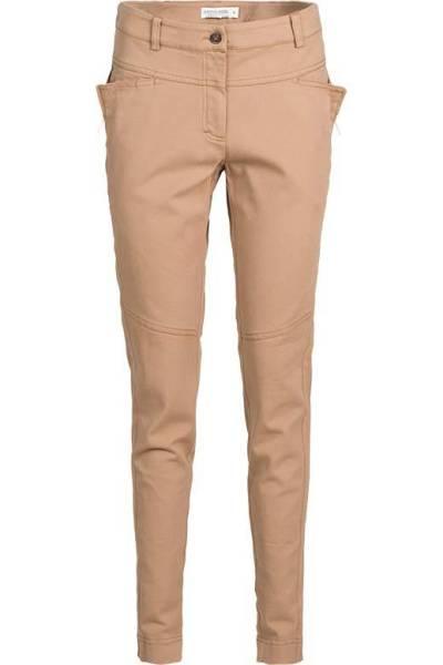Trousers twill stretch chestnut Summum Woman