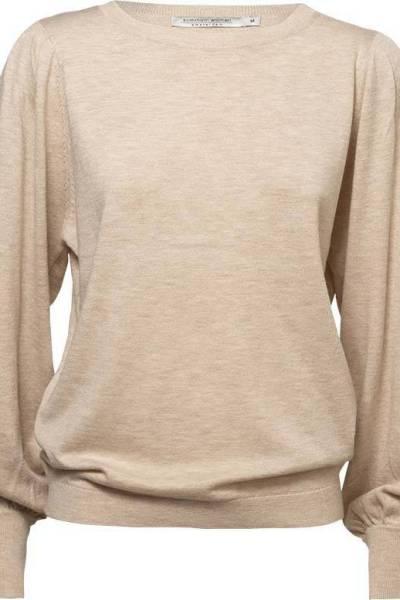 Balloon sleeve sweater alpaca Summum Woman
