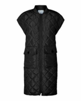 Alberte quilt vest black black Co'Couture