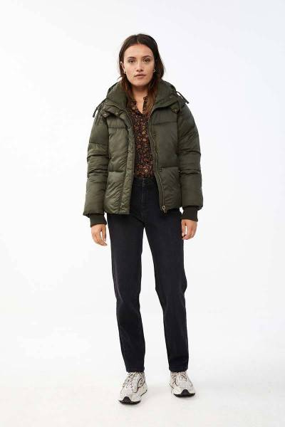 Jacket short coat forest night By-Bar