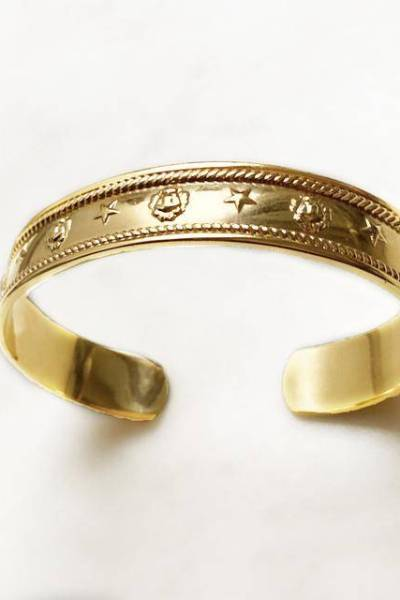 Bangle star and lion By Nouck