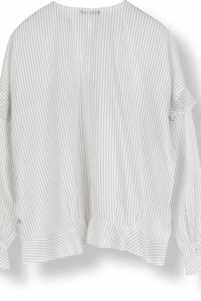 Silky stripes creme/black Stella nova