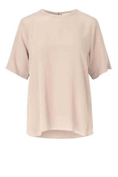 Tonga silk ss t-shirt crystal grey Second Female