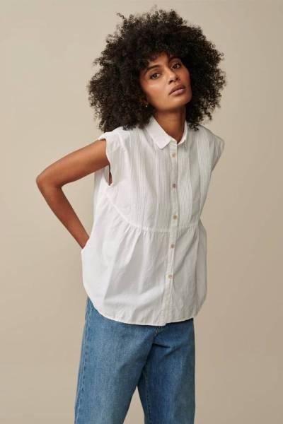 Silsbee blouses white Bellerose