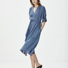 Alleen dress ombre blue Knit-ted
