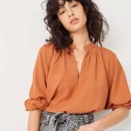 Mazunte shirts argile Sessun