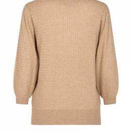 Venke 3/4 knit cuban sand Mos Mosh