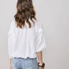 Top lace patch shell Summum