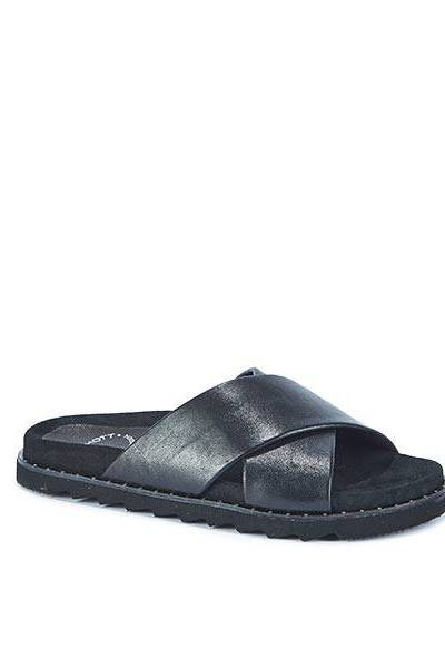 Nappa black sandals Ca'shott