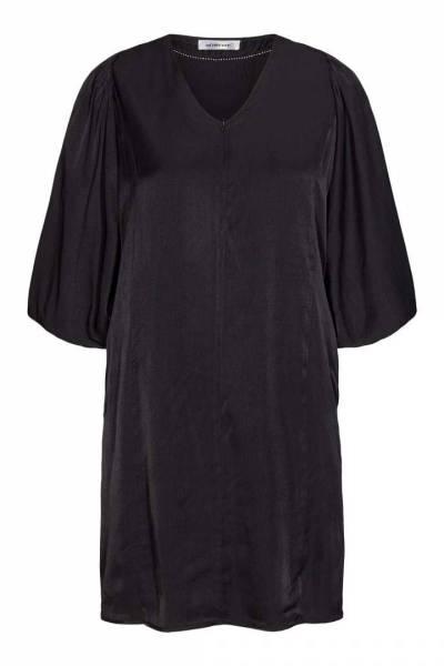 Adrienne zipper dress black Co'Couture