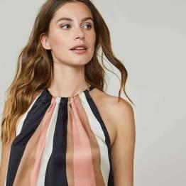 Top wavy stripes multicolour Summum