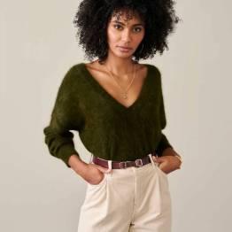 Datev knitwear olive Bellerose