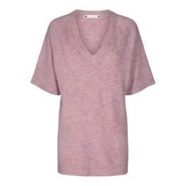 Soul v-knit top old rose Co'Couture