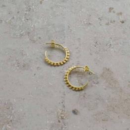 PD lara earring gold By-Bar