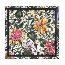 Flower love ivory XL shawl Pom Amsterdam