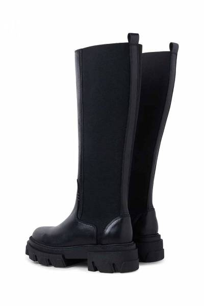 Beatrice leather black Pavement