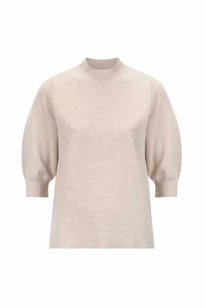 Yara pullover latte Knit-ted