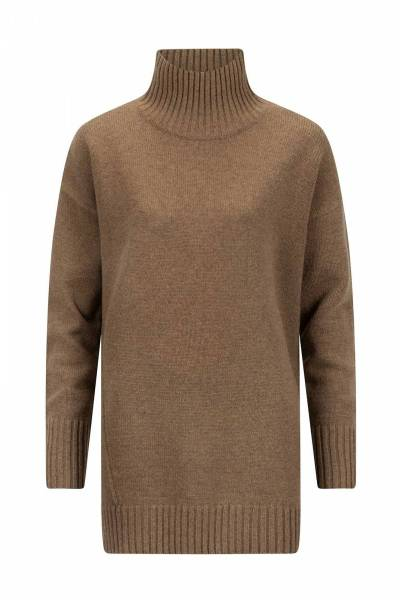 Fleur pullover mocca Knit-ted