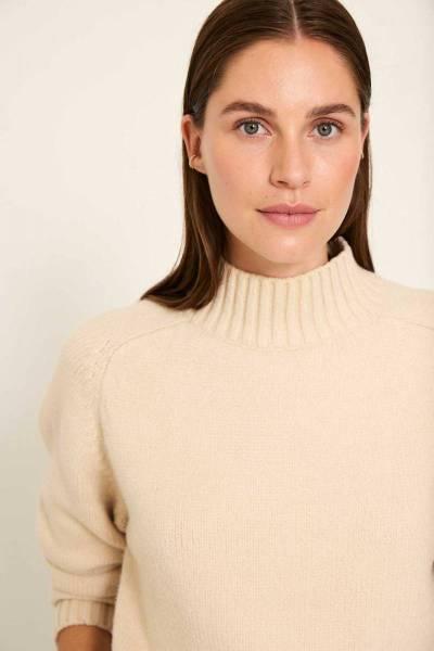 Quinn pullover vanilla Knit-ted