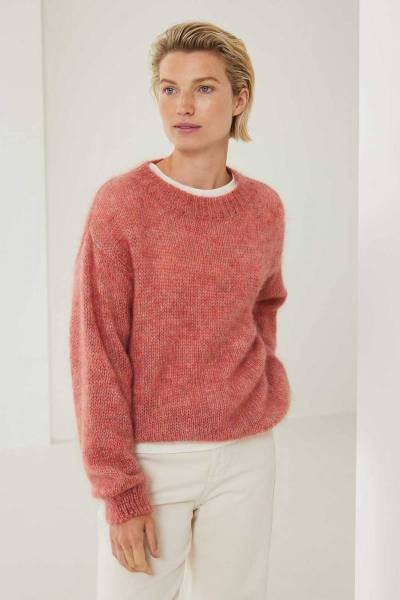 Stephanie pullover nectarine Knit-ted