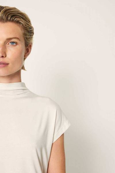 Mirre top ivory Knit-ted