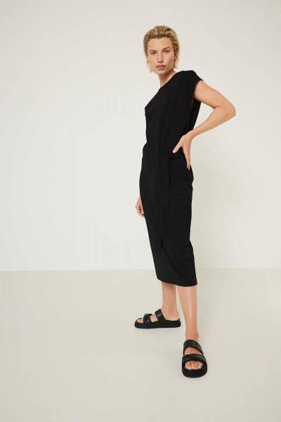 Juul dress black Knit-ted