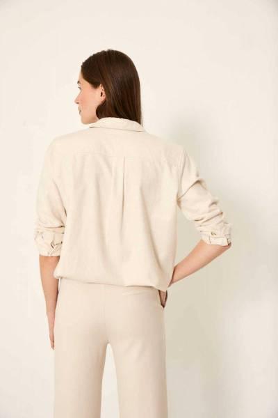 Brechtje blouse vanilla Knit-ted