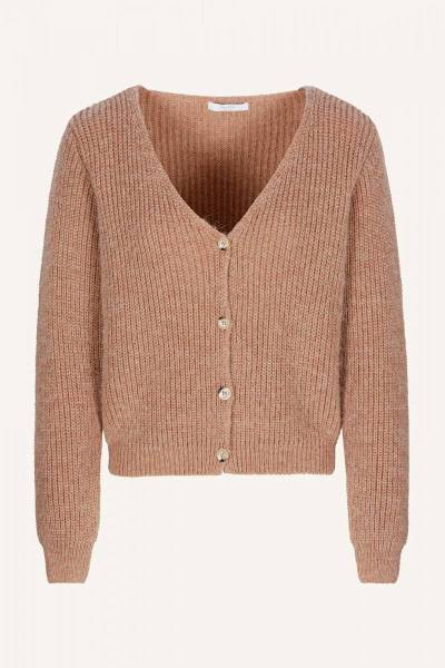 Quinty cardigan old pink By-Bar