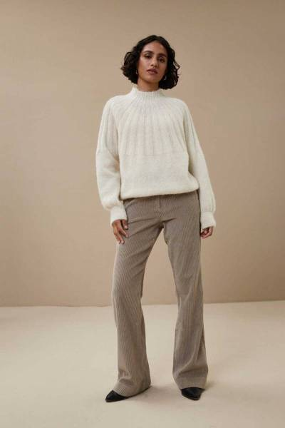 Zoe pullover off white By-Bar
