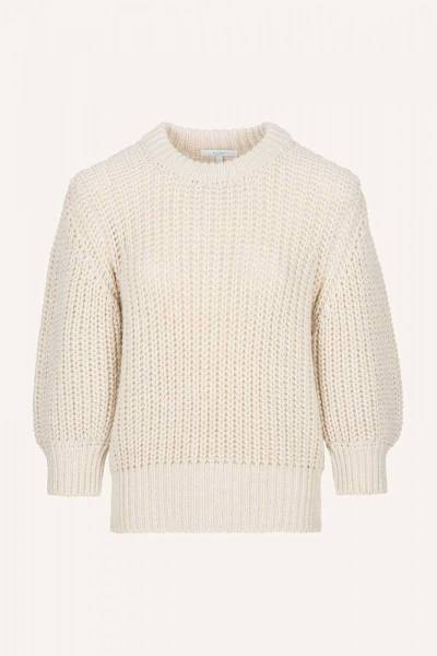 Loes pullover sand By-Bar