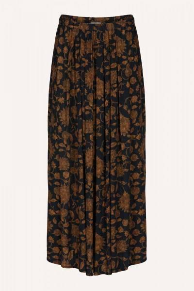 Lien golden flower skirt By-Bar