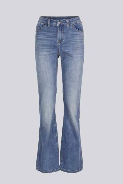 Flared jeans light weight organic cotton Summum