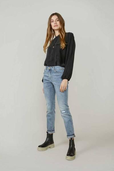 Tapered jeans rain denim vintage blue Summum