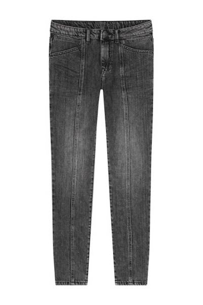 Slim fit jeans black twill ash denim Summum
