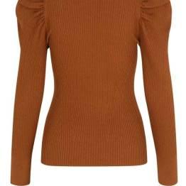 Canillu knit O-neck argan oil Second Female